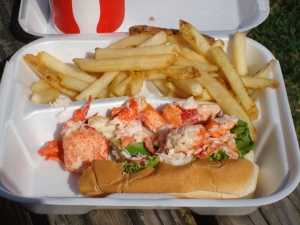 LOBSTER ROLL deliciousness