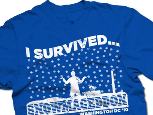 dc snowmageddon t-shirt