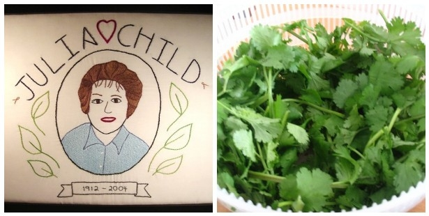 Julia Child v. Cilantro Mosaic