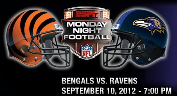 Ravens v. Bengals: Monday Night Football