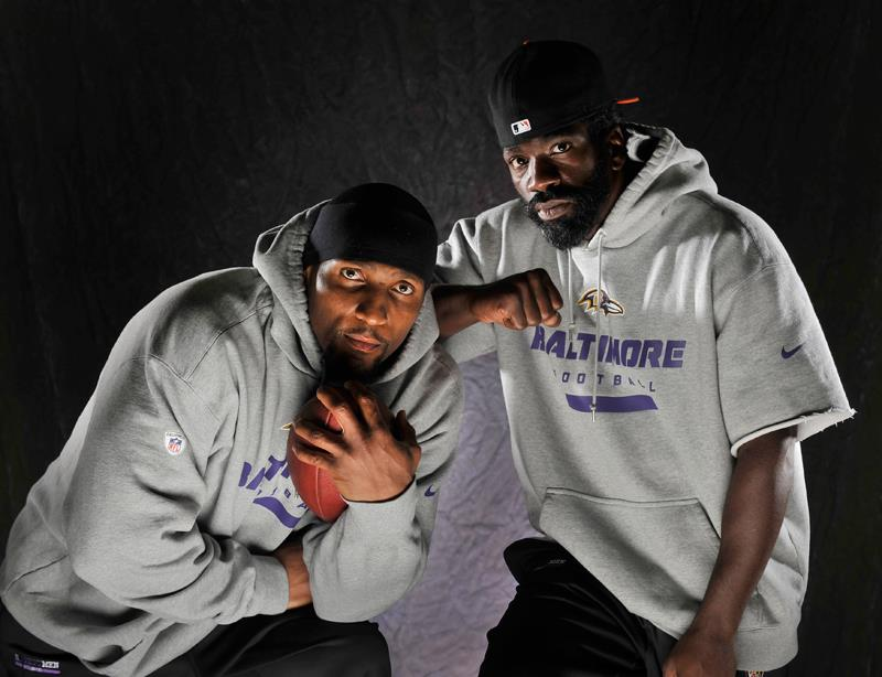 Ray Lewis and Ed Reed are focused on helping the Ravens continue their winning tradition. (Lloyd Fox, Baltimore Sun / September 7, 2012)