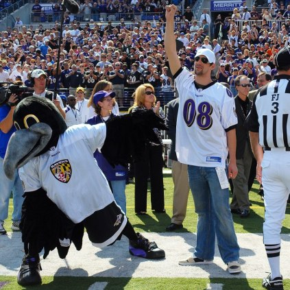 Ravens To Honor Michael Phelps Monday Night
