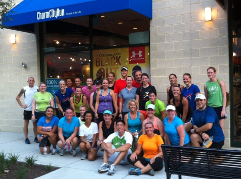Charm City Run Half Marathon Training Group