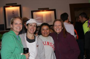 Angie, Mary, Molly, Jane: Baltimore Running Festival