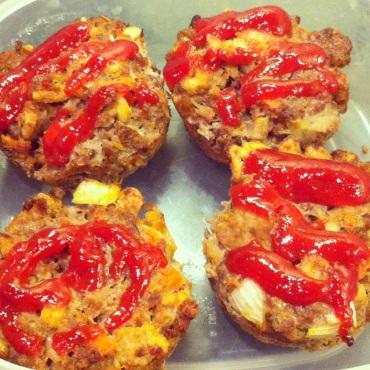 Diner Meatloaf Muffins