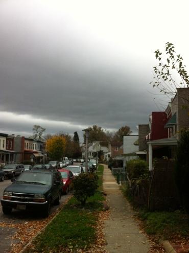 Hampden, pre-Sandy and pre-Frankenstorm