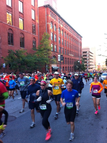 Baltimore Running Festival Marathon start