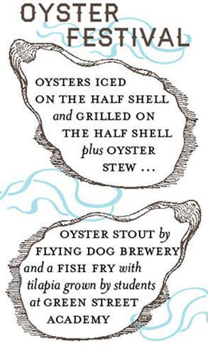 Oyster Festival: Flying Dog Beer, Woodberry Kitchen